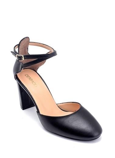 Derimod Kadın Stiletto (12100-02) Gova/Stiletto Siyah